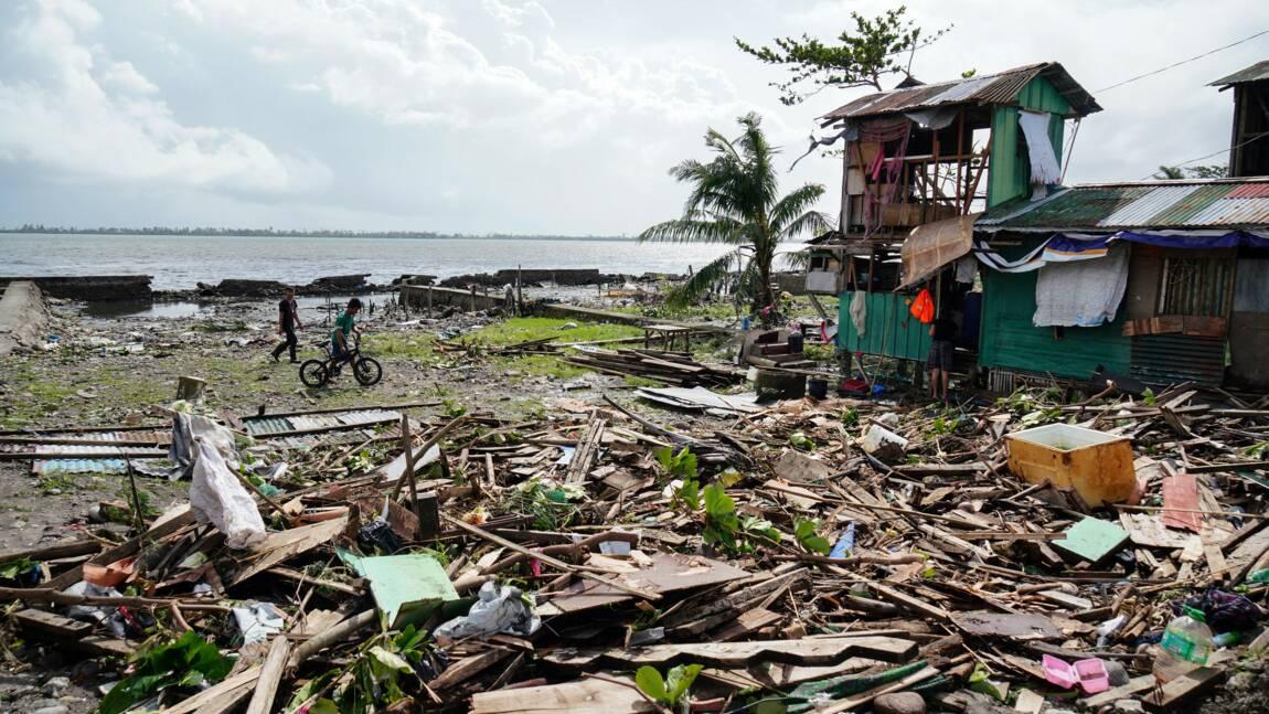 Typhon aux Philippines: le bilan grimpe à 50 morts