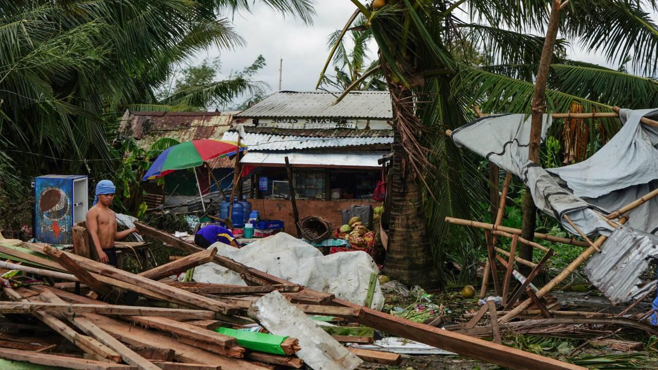 Le Noël des Philippins bouleversé par le typhon Phanfone