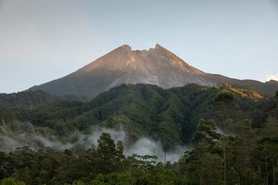 """En indonésien, son nom signifie """"montagne de feu"""""""
