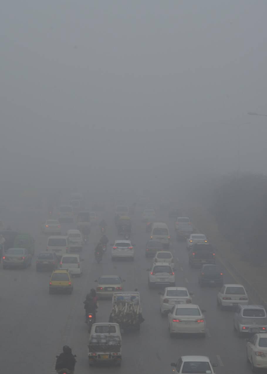 Purificateurs d'air, masques... Le Pakistan en lutte contre les dangers du smog
