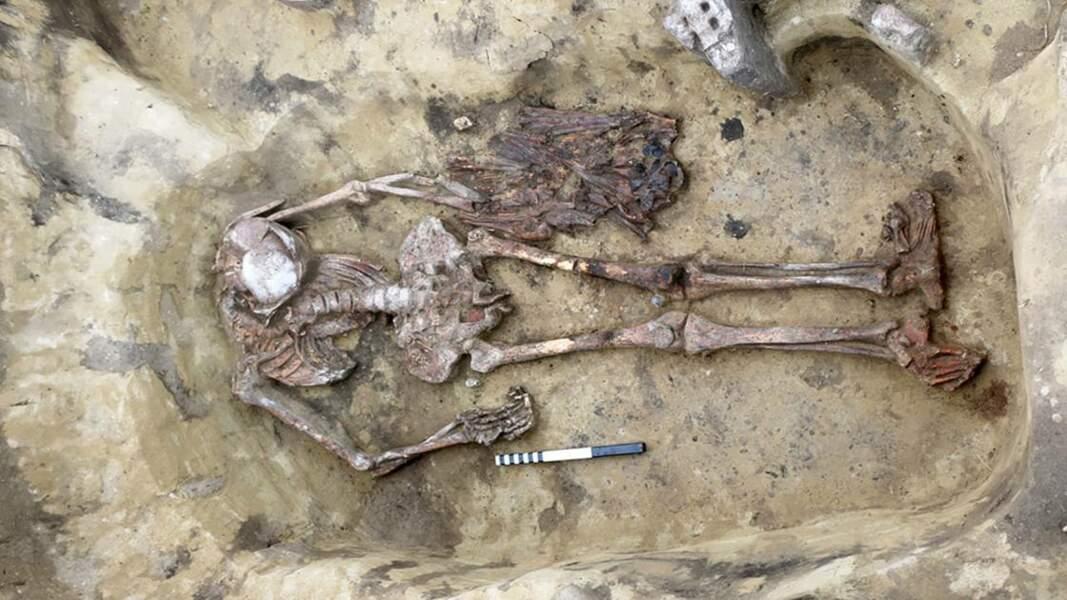 """En Sibérie, des archéologues ont mis au jour le squelette d'un étrange """"homme-oiseau"""""""