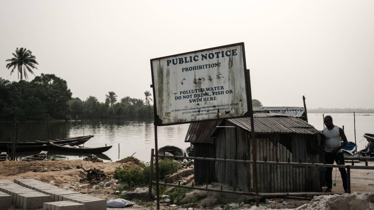 Des décennies de marée noire ont dévasté des villages entiers dans le sud-est du Nigeria