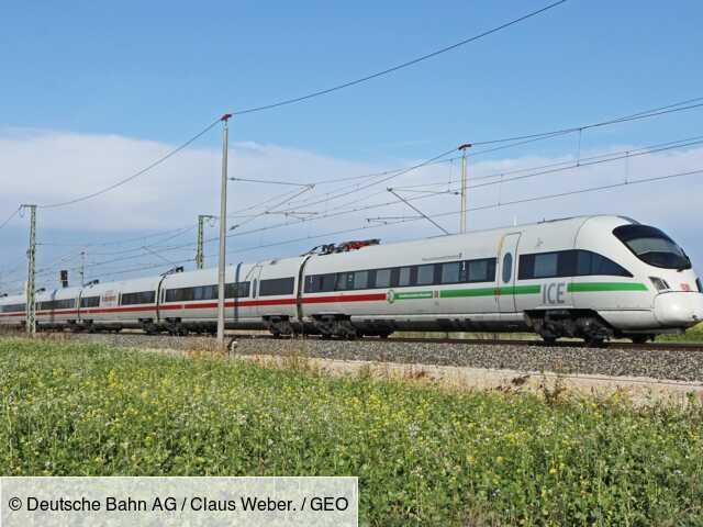 Face à l'urgence climatique, l'Allemagne baisse les prix des billets de train longue distance