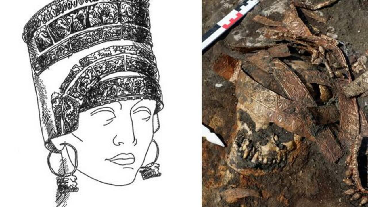 Une tombe de 2500 ans contenant quatre guerrières découverte en Russie