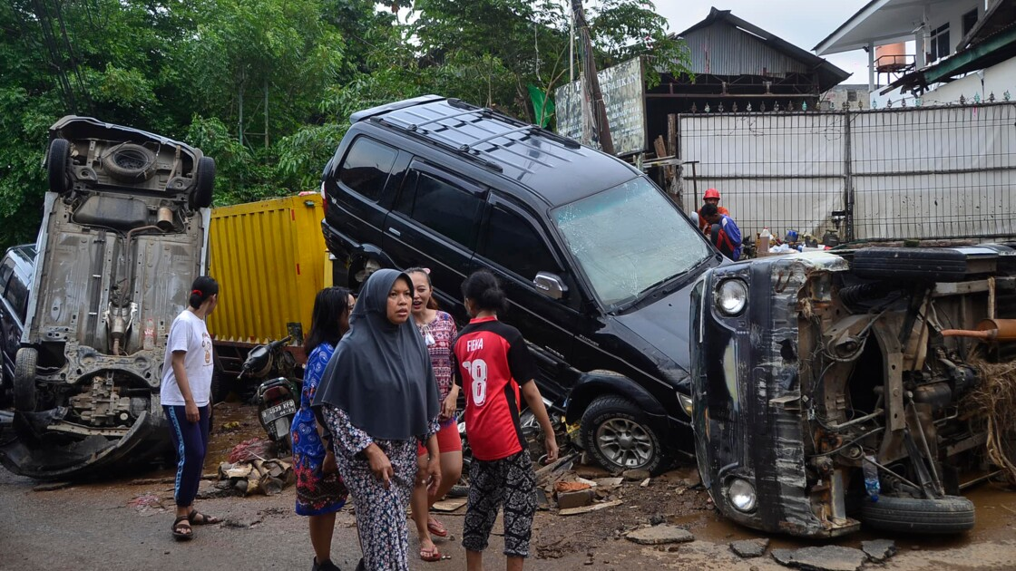 Inondations en Indonésie: 43 morts et une dizaine de disparus