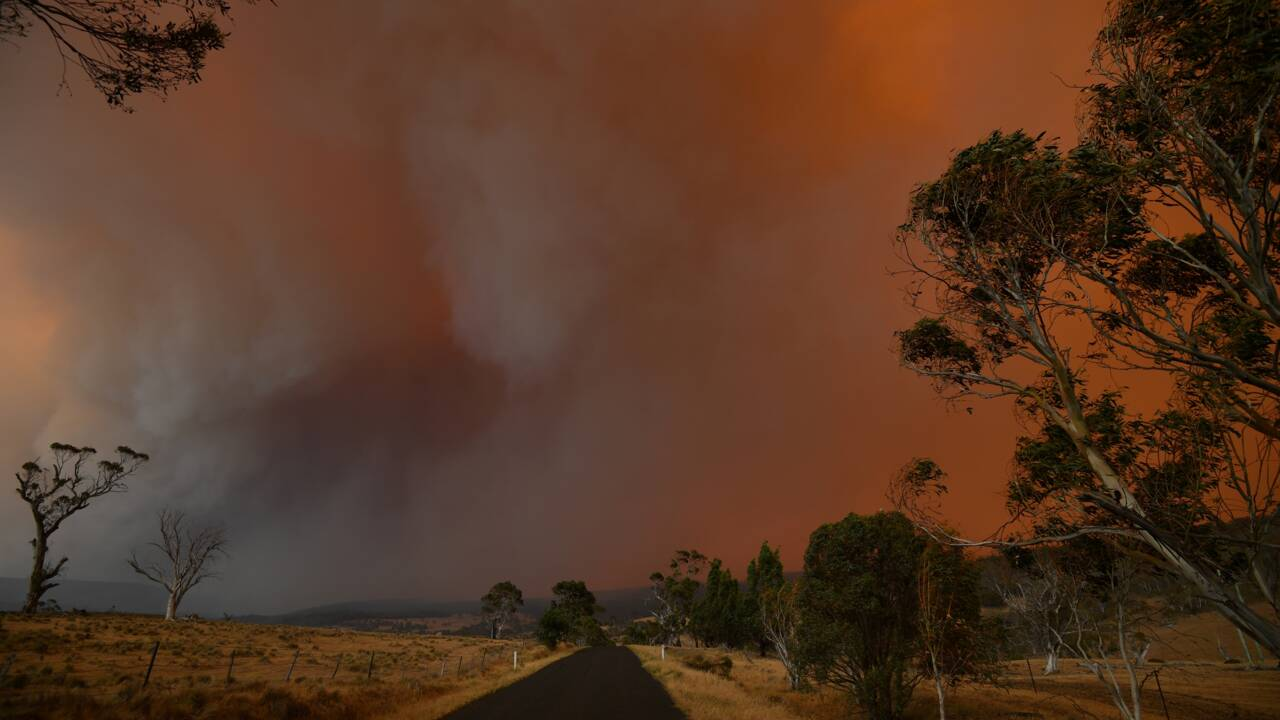 Incendies en Australie: des dizaines de milliers d'évacuations dans des villes du sud-est