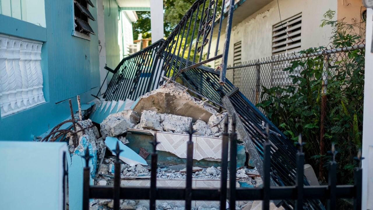 Séisme de magnitude 5,8 sur l'île de Porto Rico