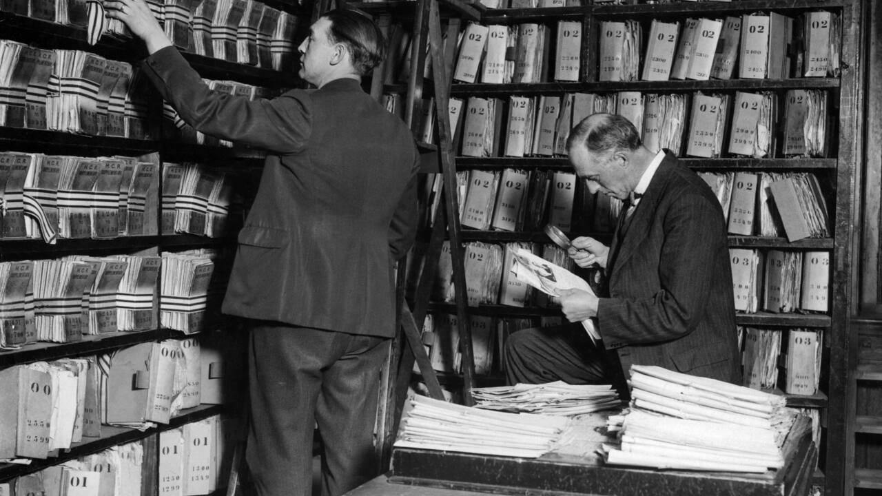 A Londres, plongée dans les archives policières de Scotland Yard avec Blake et Mortimer