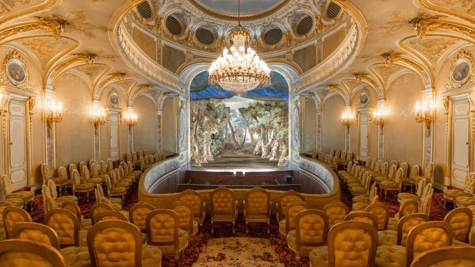 Patrimoine : à Fontainebleau, le théâtre impérial remis en scène