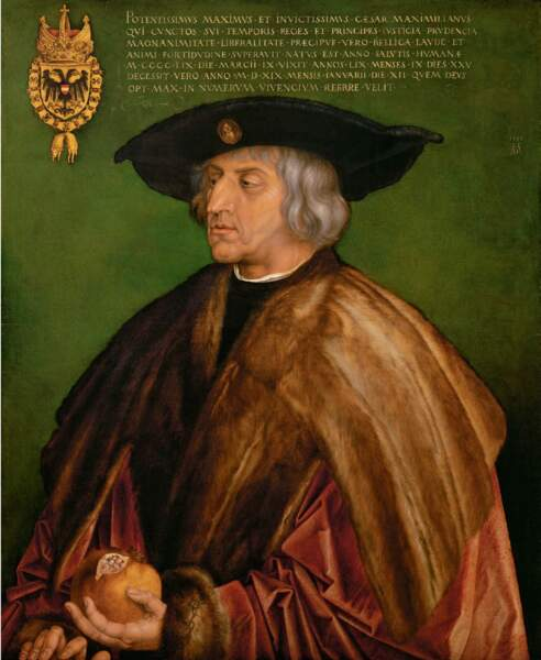 Maximilien Ier (1459-1519), empereur du Saint Empire romain germanique