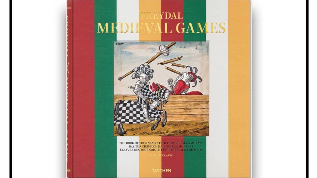 Le livre d'images du dernier roi chevalier : la bible des tournois