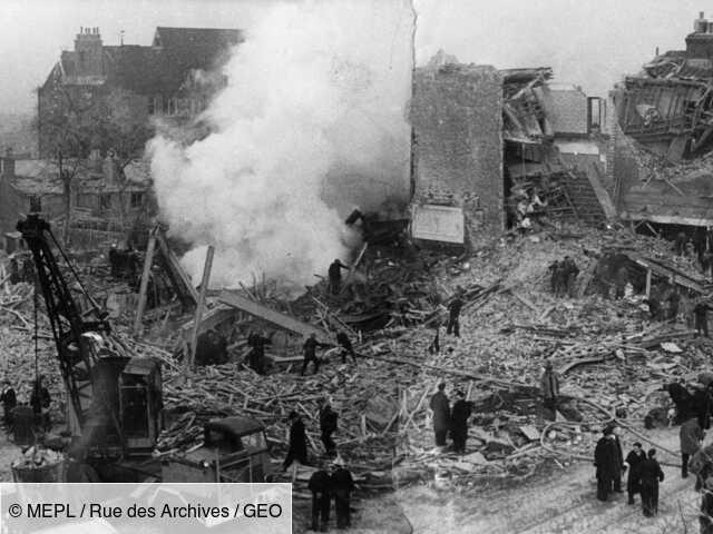 Seconde Guerre mondiale : quand Londres était ravagée par les bombes volantes des nazis