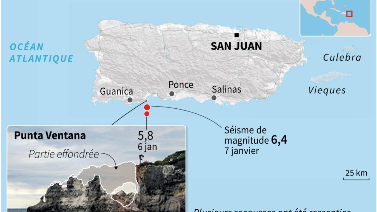 Porto Rico décrète l'état d'urgence après un puissant séisme