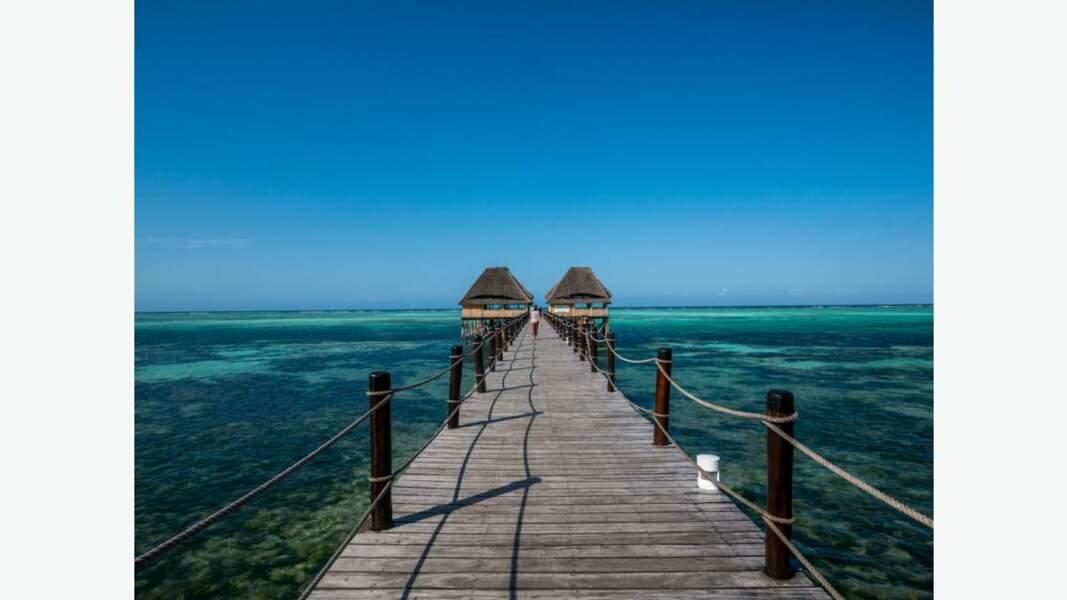Paysage de Zanzibar