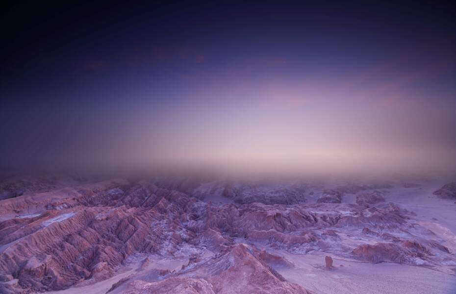 From Mars, Variation 2 : cordillera de la Sal, désert d'Atacama, Chili, 2018