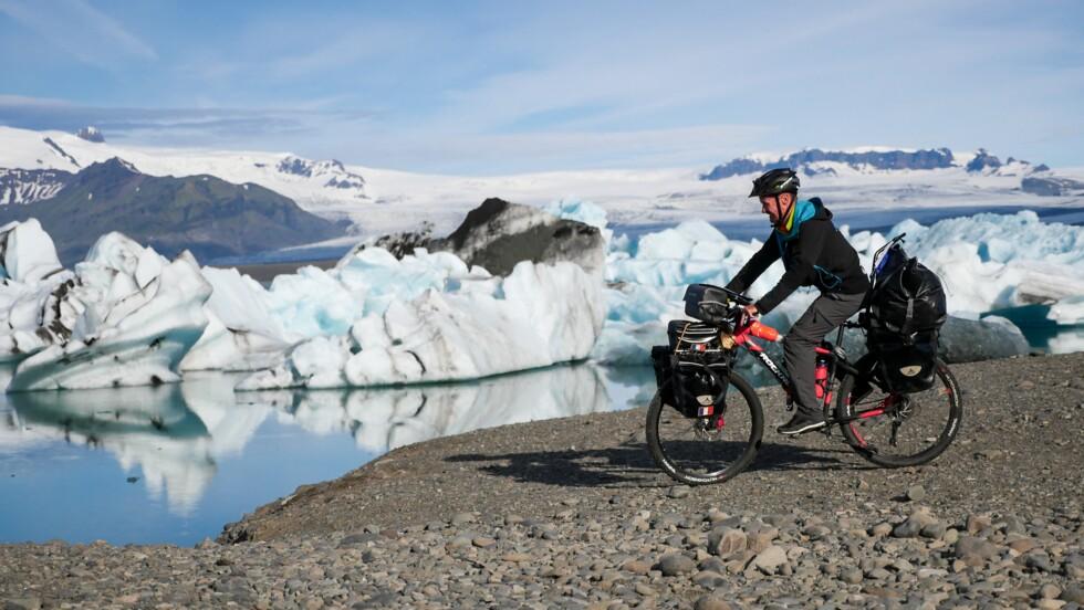 2800 kilomètres à vélo sur les routes d'Islande : « Il fallait que je fasse un truc de fou ! »