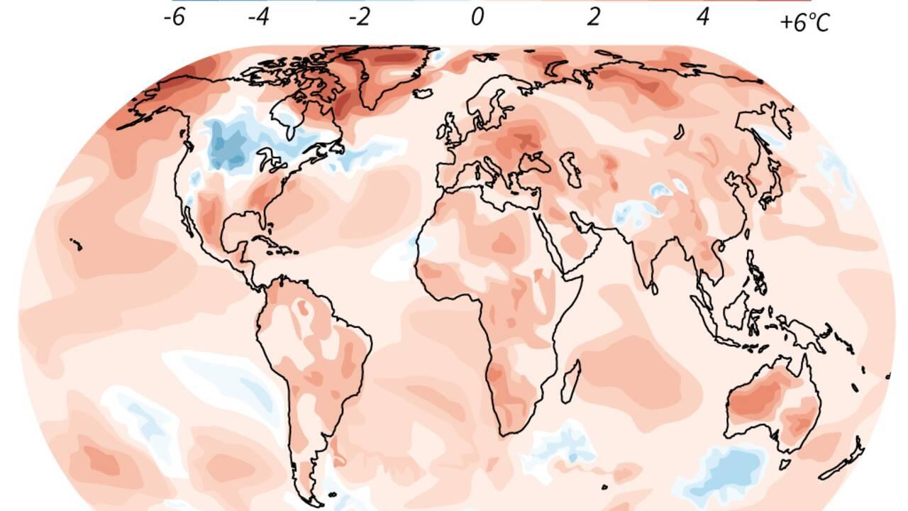 2019, 2e année la plus chaude dans le monde