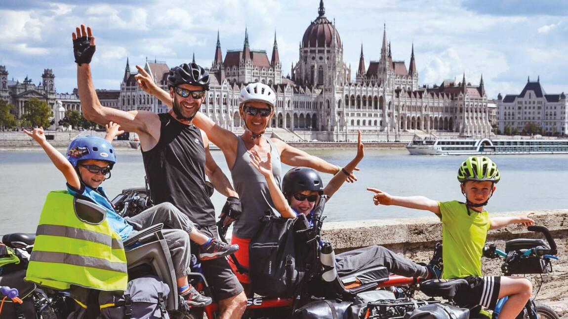 Ils ont fait Munich-Budapest à vélo et en famille : « Nous sommes fiers d'avoir dépassé les obstacles ! »
