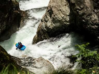 Kayak : quand la championne Nouria Newman s'attaque au toboggan du diable en Italie
