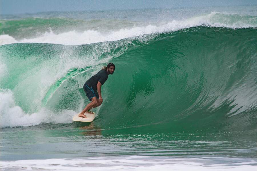 Face à la vague