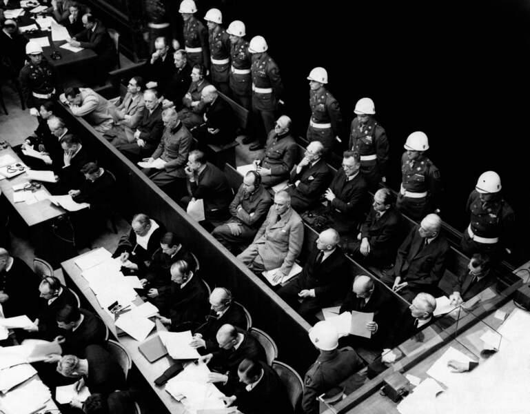 20 novembre 1945, séance inaugurale du procès de Nuremberg