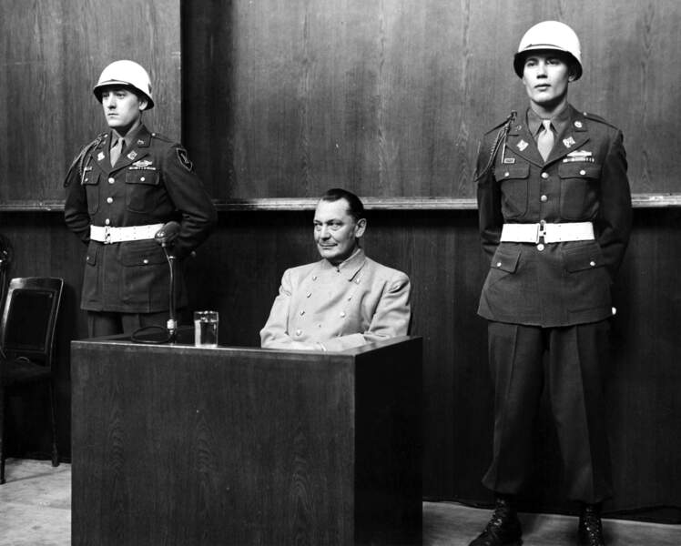 """Hermann Göring, """"star"""" de Nuremberg (1893 - 1946)"""