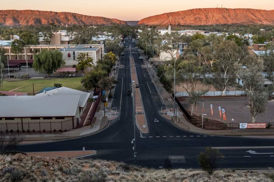 Rue désertique