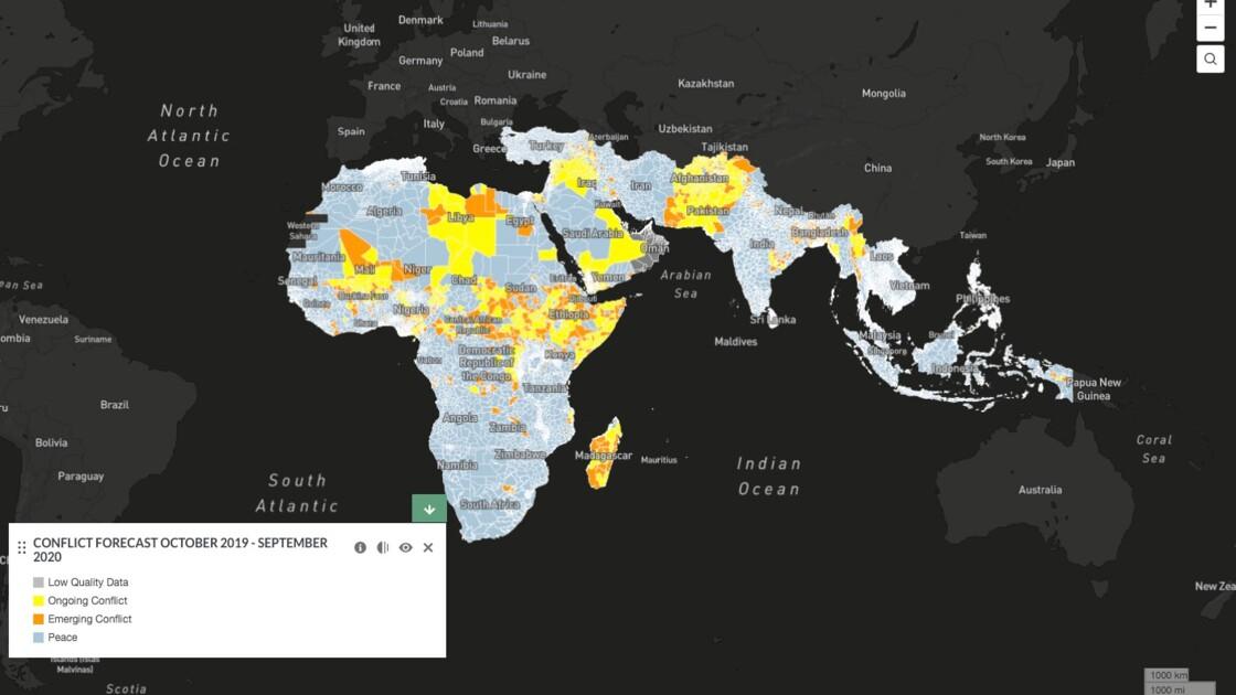 Un outil en ligne pour prédire les conflits liés à l'eau