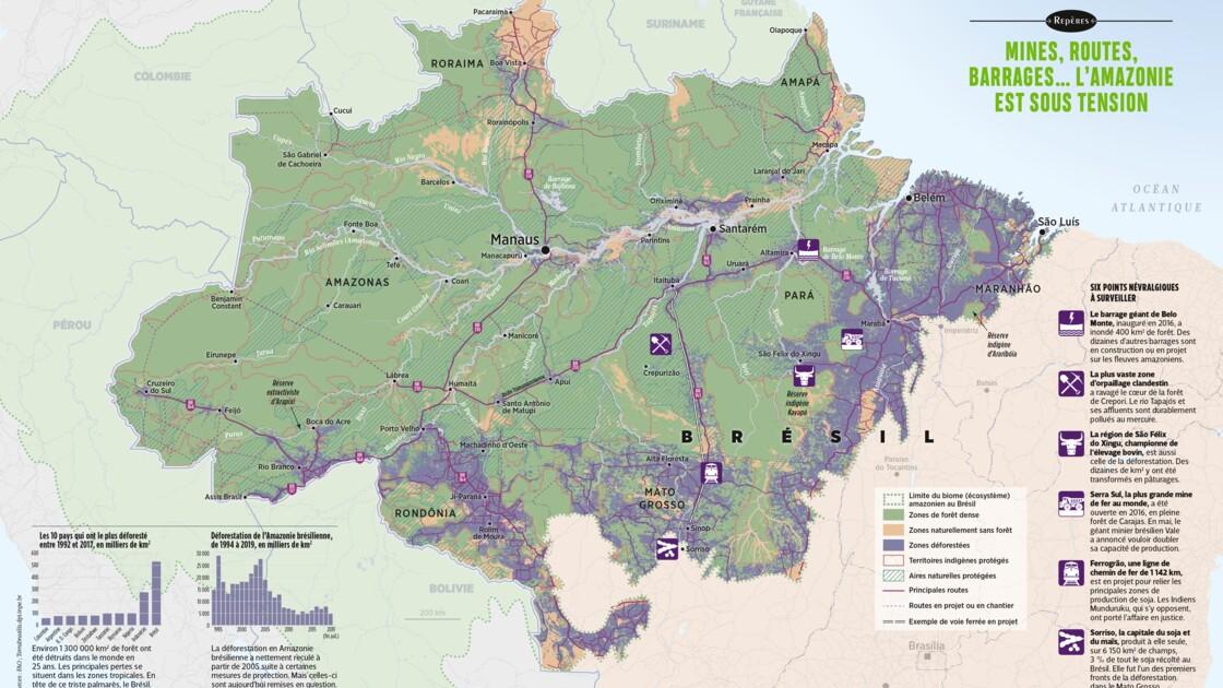 L'Amazonie sous tension en trois questions