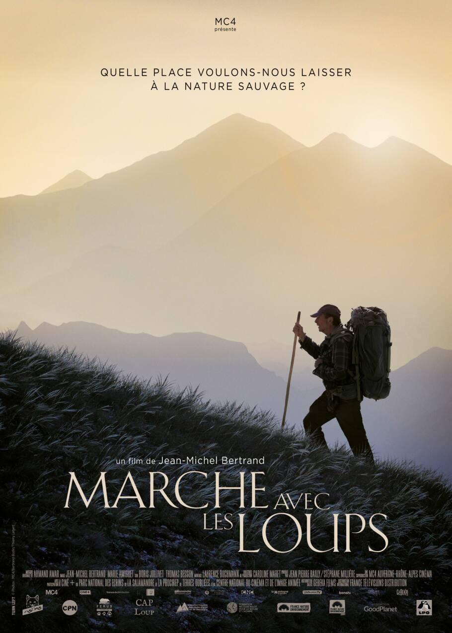 """""""Marche avec les loups"""", une quête envoûtante au coeur du monde sauvage"""