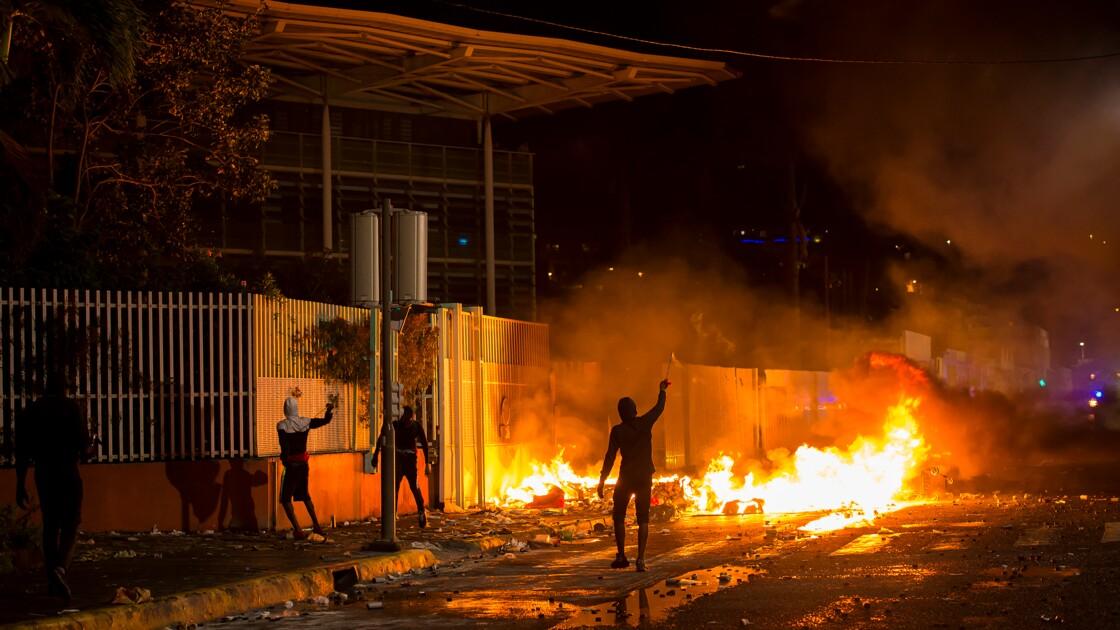 Chlordécone: retour au calme à Fort-de-France après des heurts