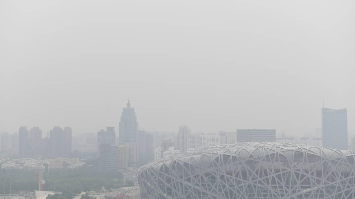 """Pollution en Chine: des """"progrès impressionnants"""" mais l'ozone en hausse"""