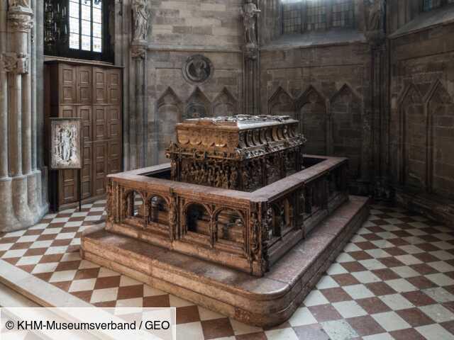 Le tombeau de l'empereur Frédéric III révèle ses trésors en Autriche
