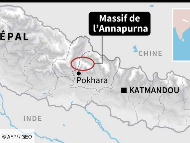 Avalanche au Népal : suspension des recherches pour retrouver les Sud-Coréens et Népalais disparus