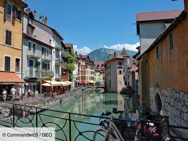 Annecy, meilleure ville pour vivre en France
