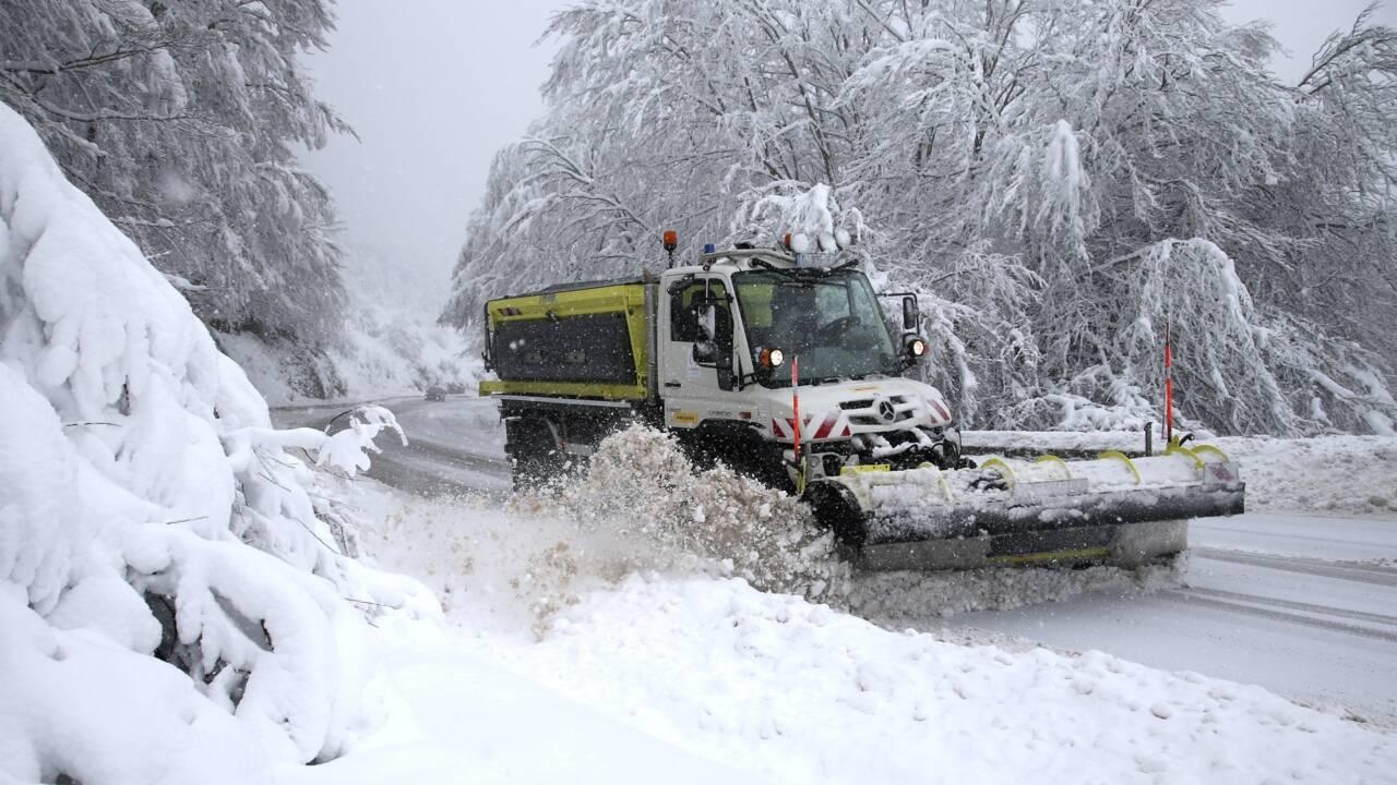 Transports perturbés par la neige dans les Pyrénées-Orientales, la pluie redouble