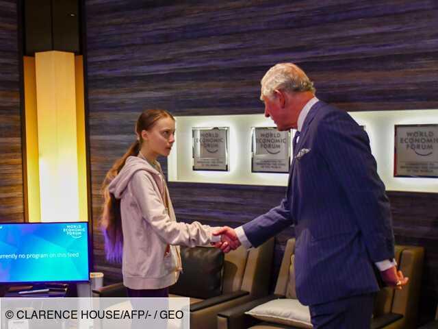 """""""A quoi bon l'argent s'il part en fumée ?"""" : le cri d'alarme du prince Charles à Davos"""