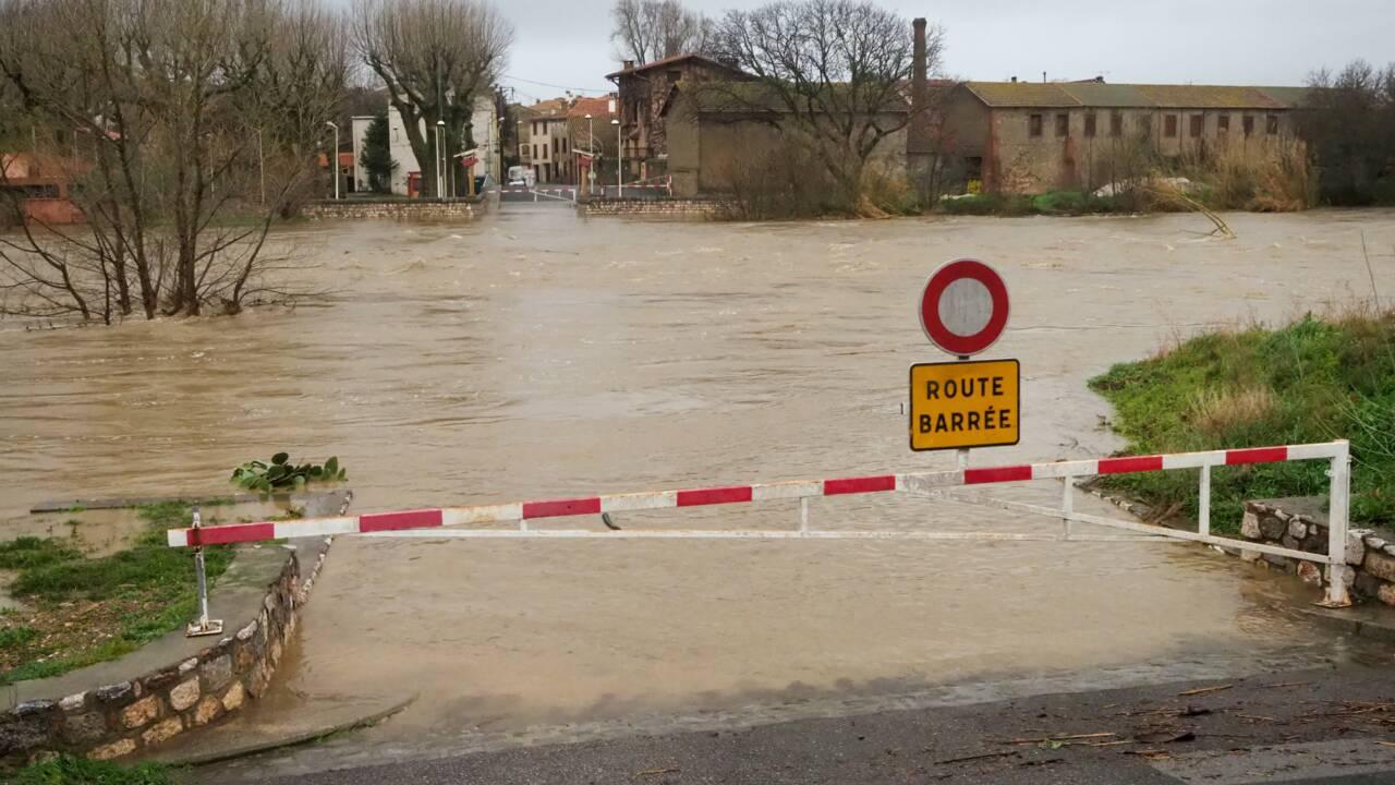 Tempête Gloria: deux fleuves débordent dans le sud, plus de 1.500 évacuations