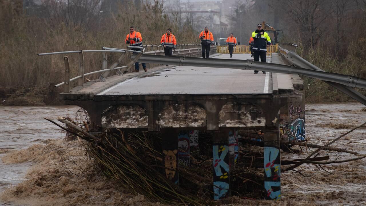 La tempête Gloria fait au moins sept morts en Espagne, quatre disparus