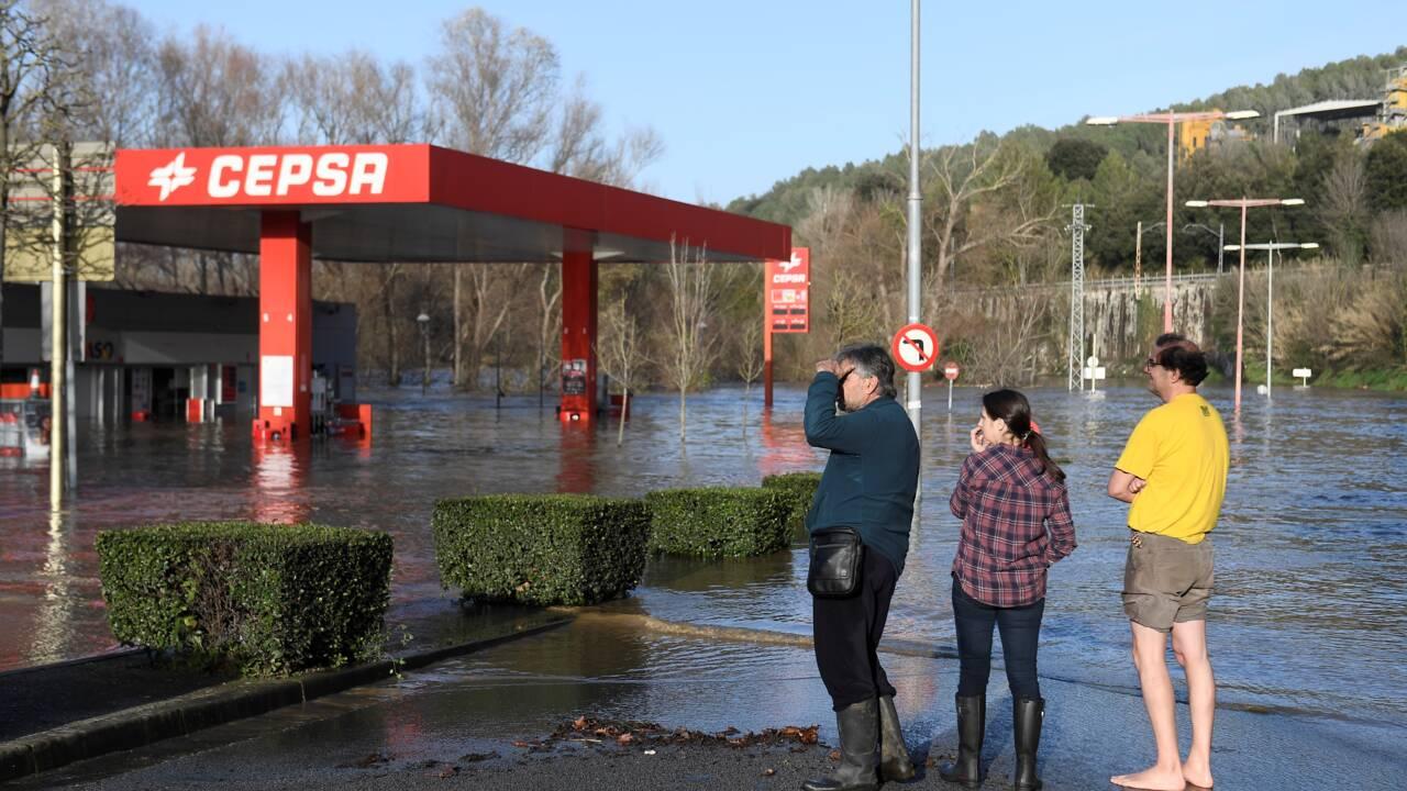 Espagne: le bilan de la tempête Gloria s'élève à 11 morts