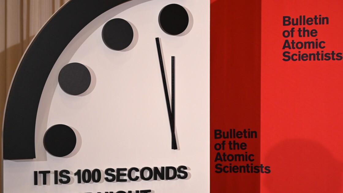 Crise climatique : l'horloge de l'apocalypse avancée de 20 secondes, plus près de minuit que jamais