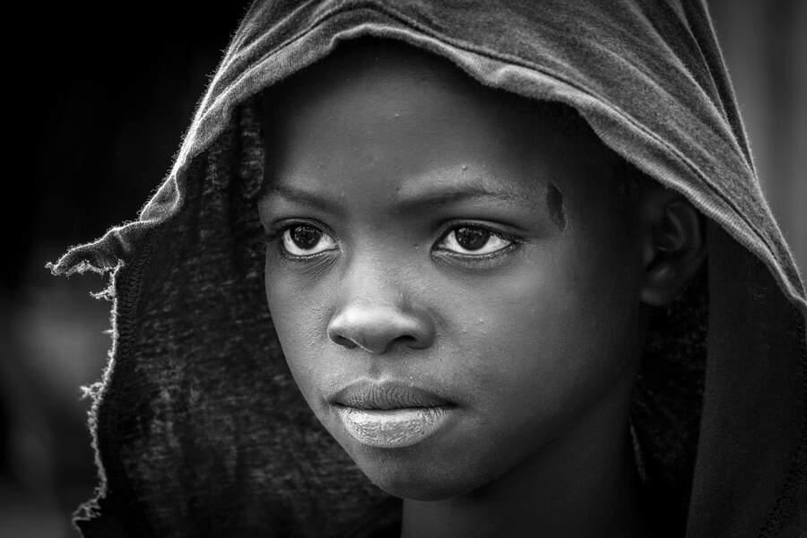 Portrait d'un jeune berger