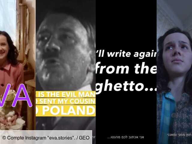 Le journal d'une adolescente juive morte à Auschwitz transposé sur Instagram