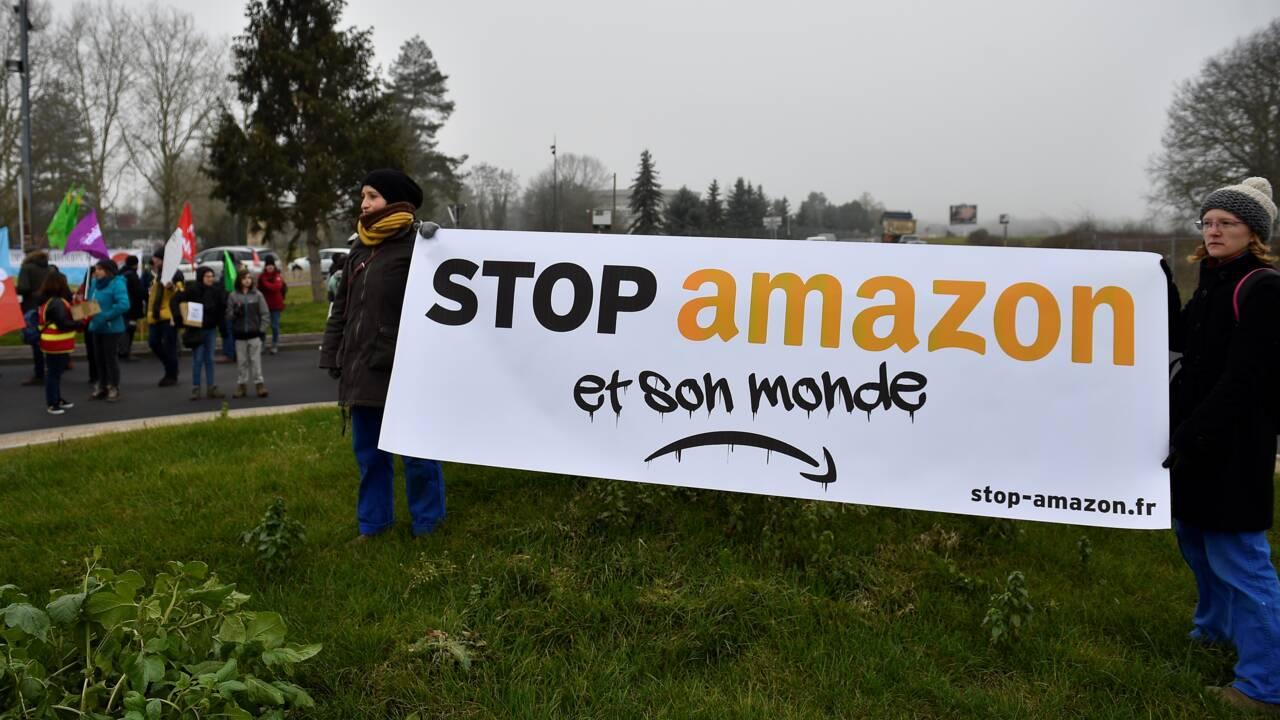Moselle: rassemblement contre la construction d'une plateforme Amazon