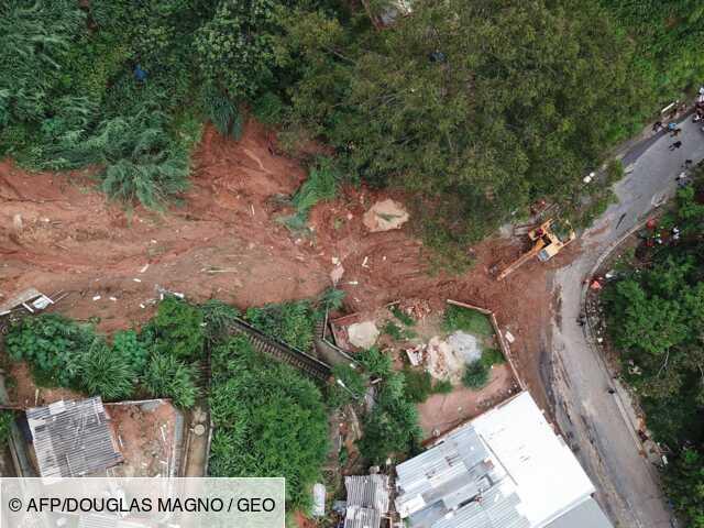 Une tempête au Brésil fait au moins trente morts