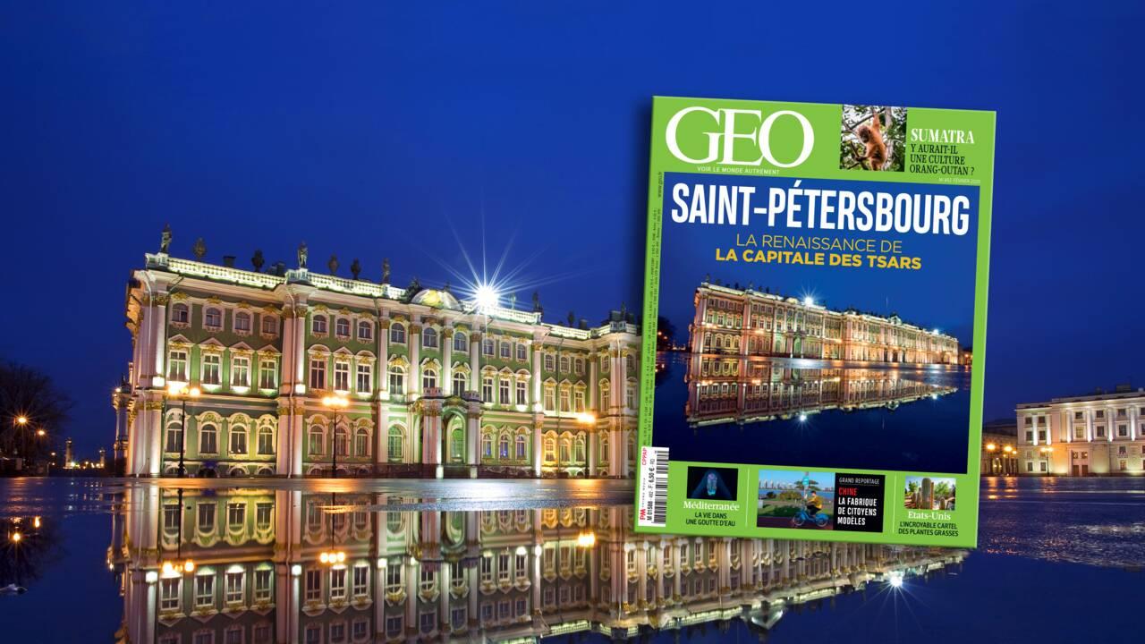 Saint-Pétersbourg, derrière les palais et les églises à bulbes