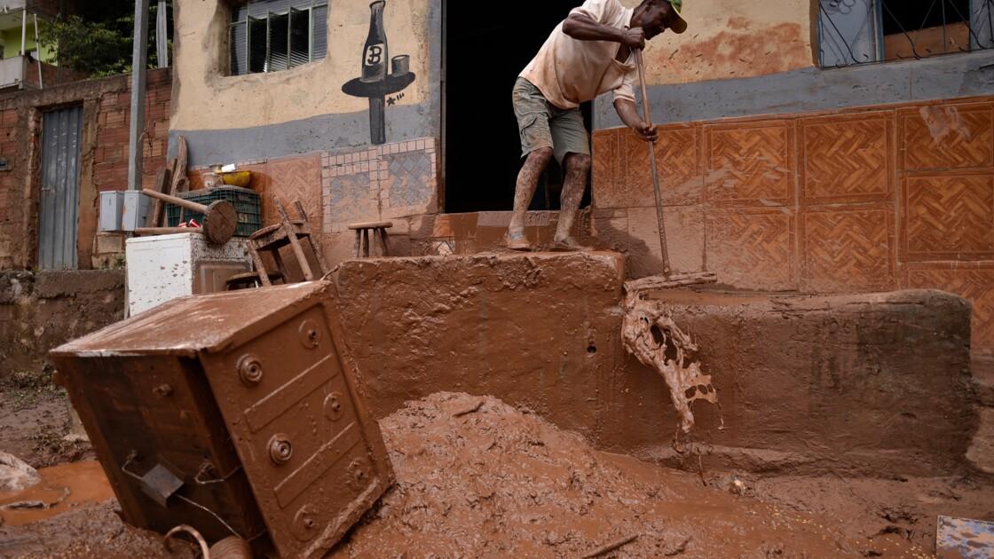 Détresse et désolation après les inondations meurtrières au Brésil