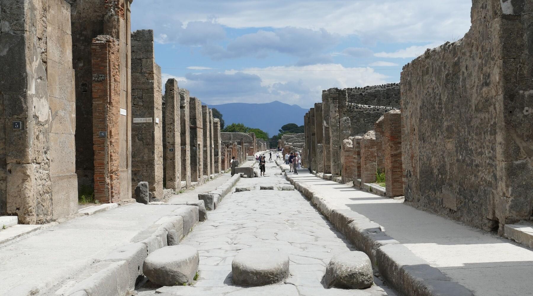 Pompéi, les trésors d'une cité antique mythique