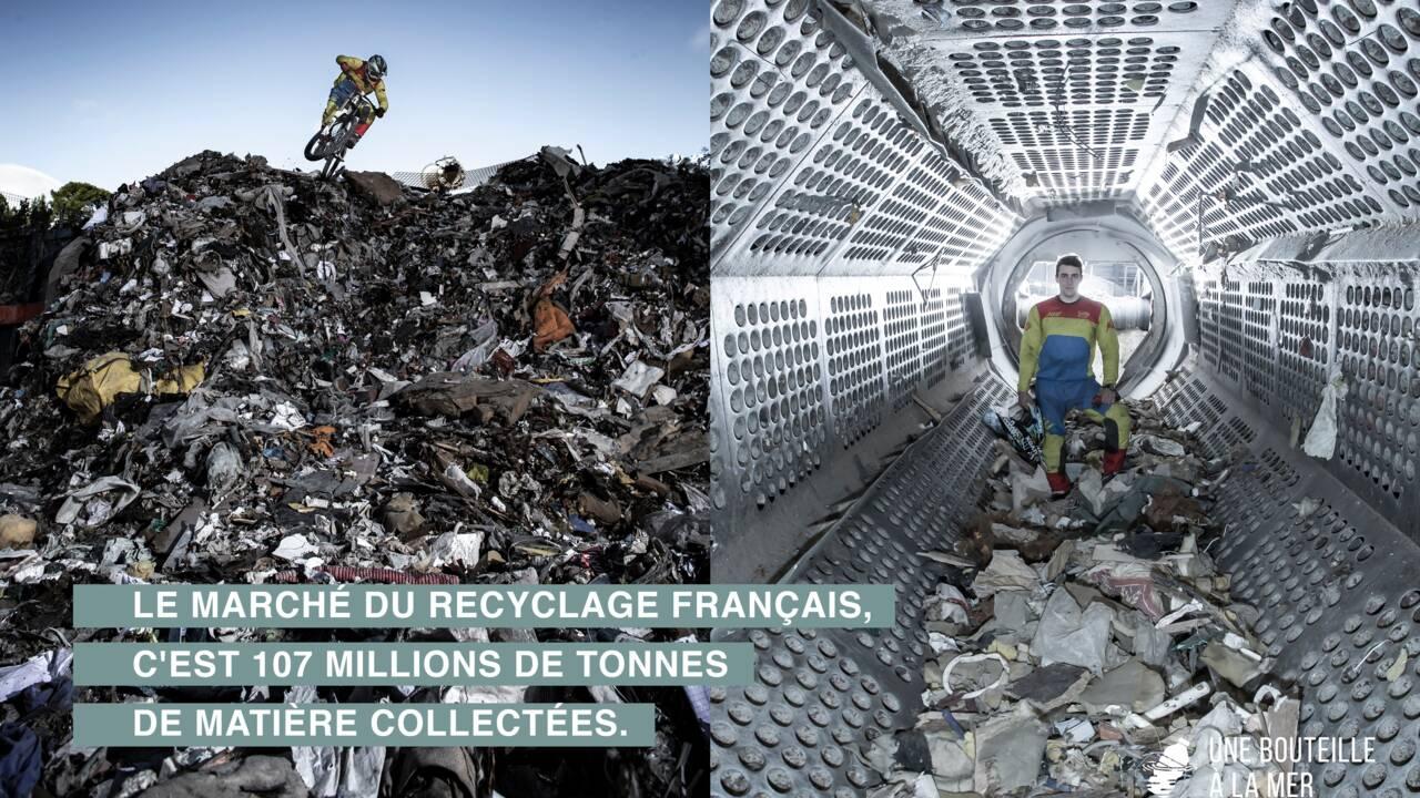 Kilian Jornet, Liv Sansoz… 10 champions posent au milieu des déchets pour inciter à recycler