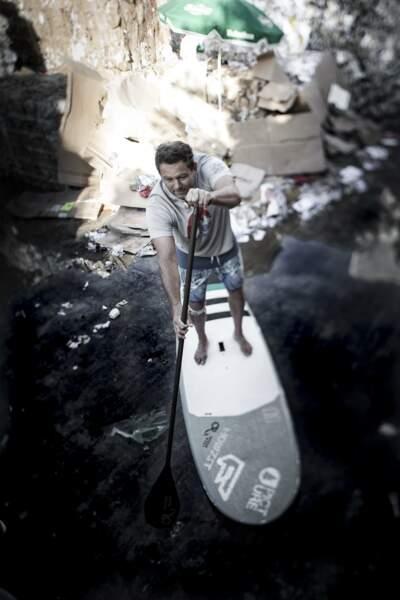 Rico Leroy, champion du monde de surf tandem